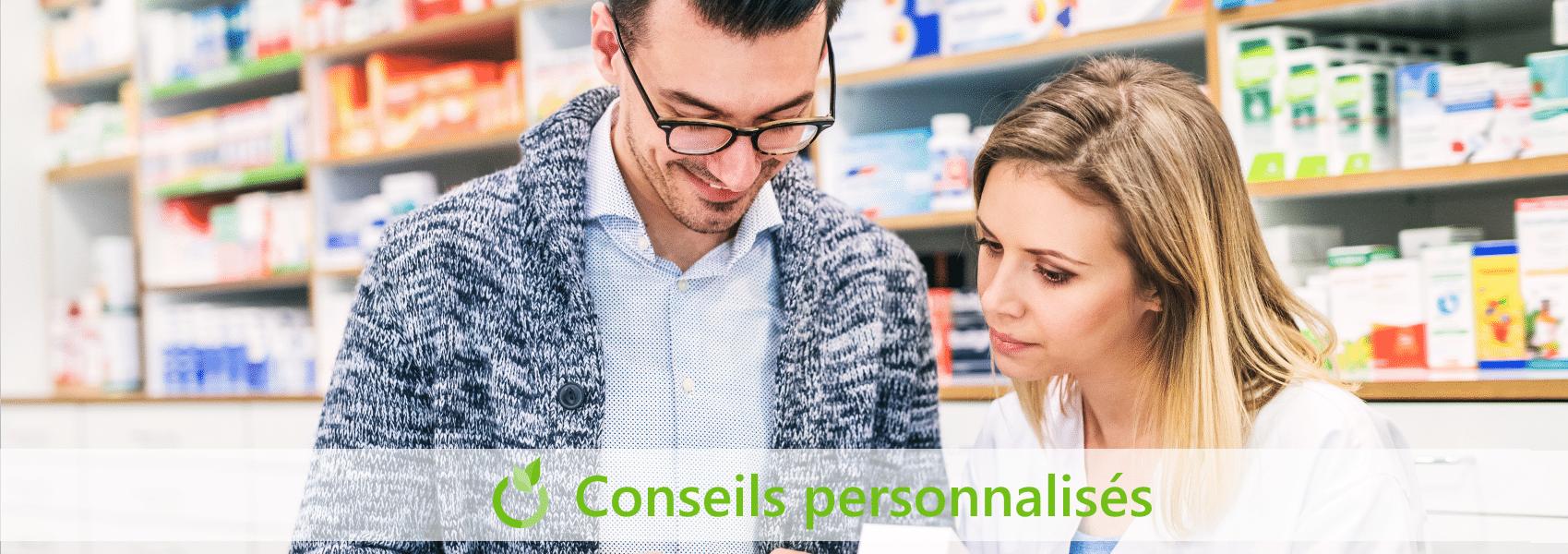 conseils personnalisés en pharmacie à Canteleu portail